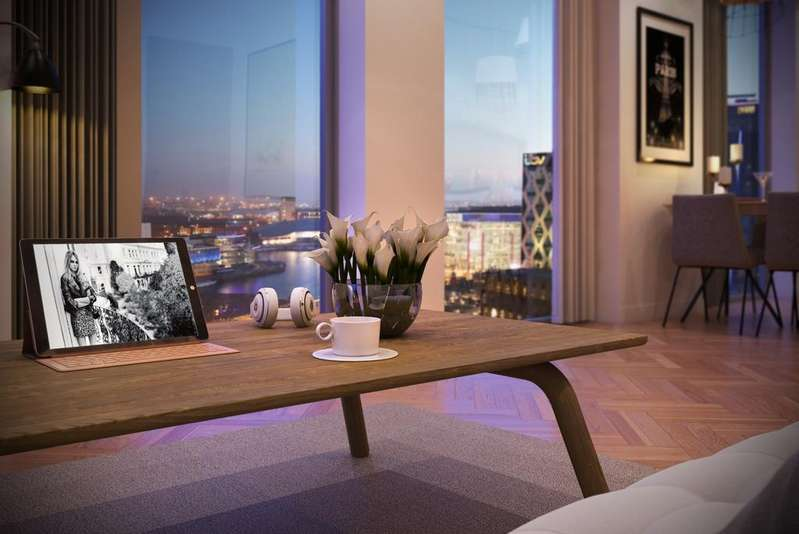 2 Bedrooms Apartment Flat for sale in X1 Media City Tower 4, Salford Quays, Manchester M50