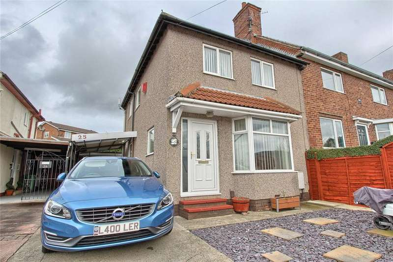 3 Bedrooms End Of Terrace House for sale in New Road, Billingham