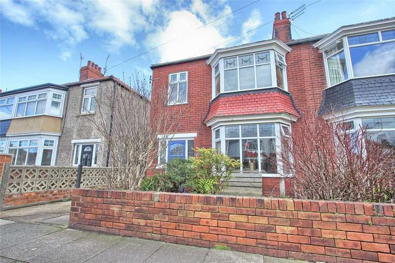 3 Bedrooms Semi Detached House for sale in Zetland Road, Redcar