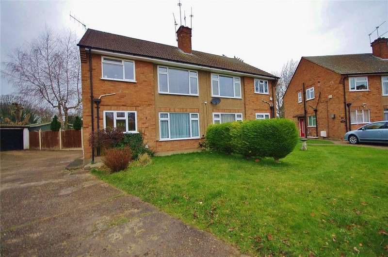 2 Bedrooms Maisonette Flat for sale in Leaford Crescent, Watford, Hertfordshire, WD24