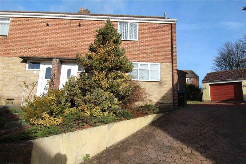 2 Bedrooms Semi Detached House for sale in South Lea, Witton Gilbert, Co Durham, DH7