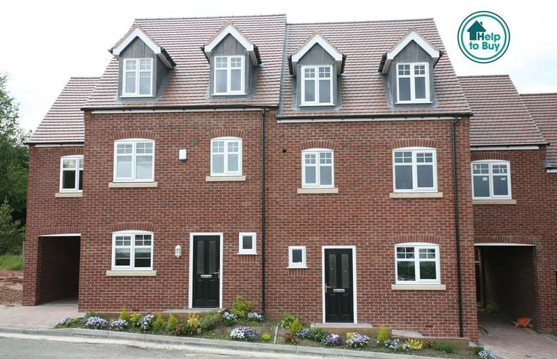 4 Bedrooms Mews House for sale in Plot 4 (The Ripon), Highfields Gardens, High Mount Street, Hednesford, WS12 4BN