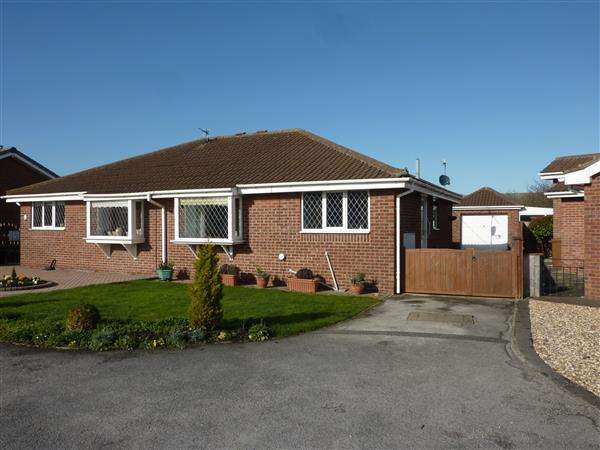 2 Bedrooms Semi Detached Bungalow for sale in BILLINGHAY COURT, CLEETHORPES