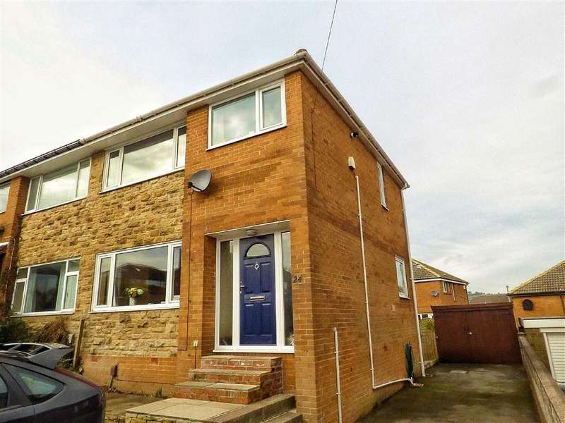 3 Bedrooms Semi Detached House for sale in Bracewell Road, Meltham, HOLMFIRTH, West Yorkshire, HD9