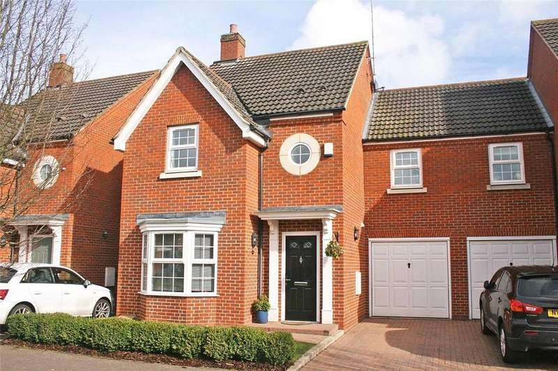 4 Bedrooms Link Detached House for sale in Langstone Ley, Welwyn Garden City, Hertfordshire