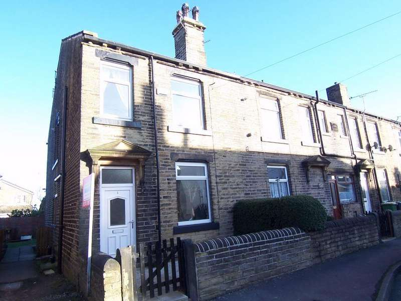 2 Bedrooms Terraced House for sale in Springfield Terrace, Scholes, Cleckheaton, West Yorkshire, BD19