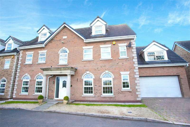 6 Bedrooms Detached House for sale in Stanley Lane, Aspull, Wigan, Lancashire