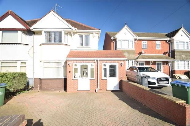 3 Bedrooms Semi Detached House for sale in Hydes Road, WEST BROMWICH, West Midlands