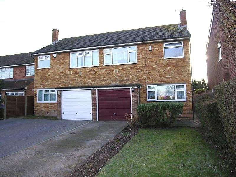 3 Bedrooms Semi Detached House for sale in Horton Road, Stanwell Moor, Staines-Upon-Thames, TW19