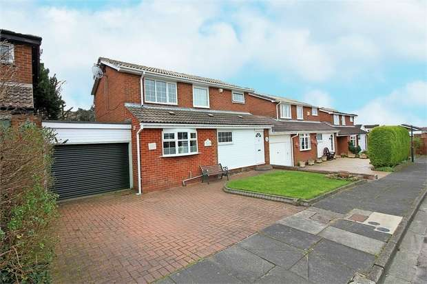 3 Bedrooms Link Detached House for sale in Cleadon Meadows, Sunderland, Tyne and Wear