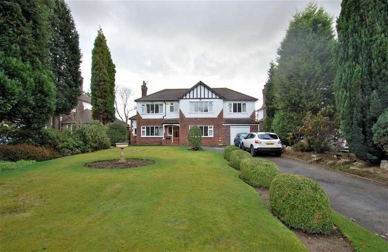4 Bedrooms Detached House for sale in Bridge Lane, Bramhall, Cheshire