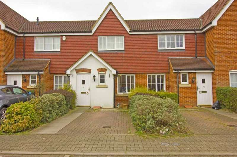 2 Bedrooms Terraced House for sale in Ridings Avenue, Great Notley, Braintree, CM77