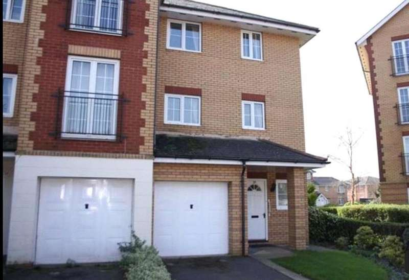 5 Bedrooms End Of Terrace House for sale in Harrison Way, Windsor Quay, Cardiff Bay, Cardiff, CF11