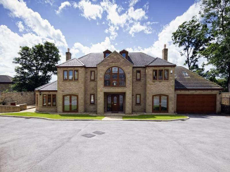 5 Bedrooms Detached House for sale in The Reynards, Mirfield, West Yorkshire, WF14