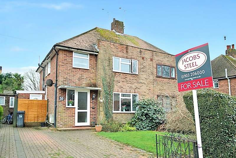 4 Bedrooms Semi Detached House for sale in Chesterfield Road, Goring BN12 6BY