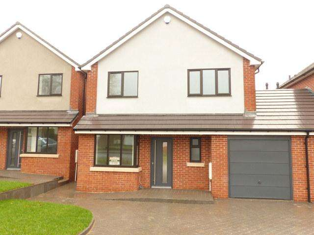 4 Bedrooms Link Detached House for sale in Sunnyside,Walsall Wood,Walsall