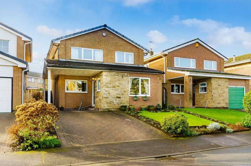 4 Bedrooms Detached House for sale in Holly Bank, Ackworth