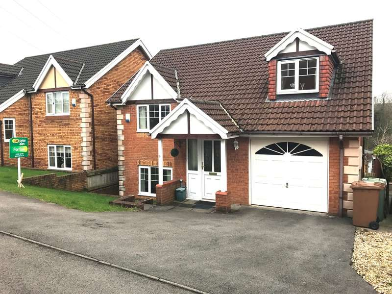 4 Bedrooms Detached House for sale in Bramblewood Court, Pengam, BLACKWOOD