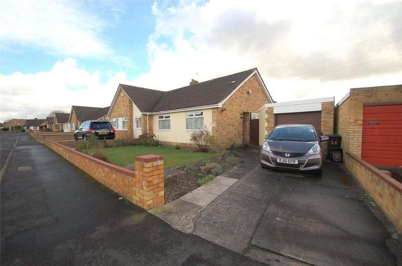 2 Bedrooms Semi Detached Bungalow for sale in Stafford Road, Bridgwater, Somerset, TA6