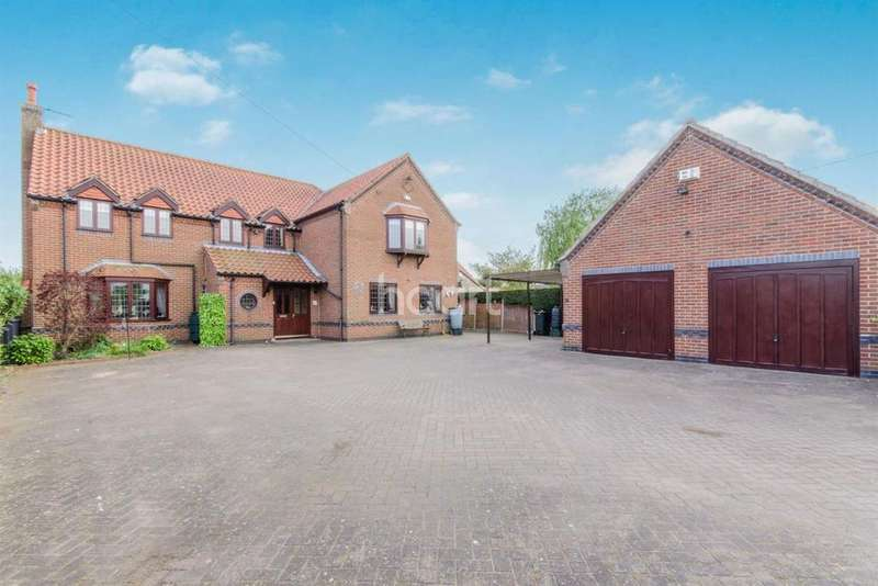 5 Bedrooms Detached House for sale in Thorpe In Balne