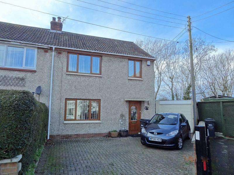 3 Bedrooms Semi Detached House for sale in Park Close, Cossington