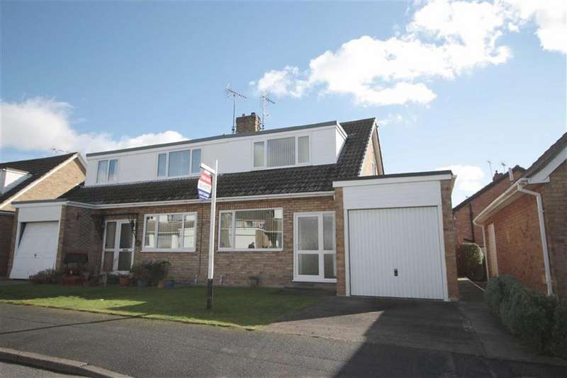 3 Bedrooms Semi Detached Bungalow for sale in Greenlands, Driffield, East Yorkshire