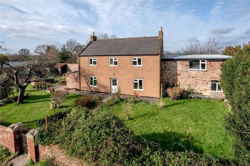 5 Bedrooms Detached House for sale in Worthy Lane, Creech St. Michael, Taunton, Somerset