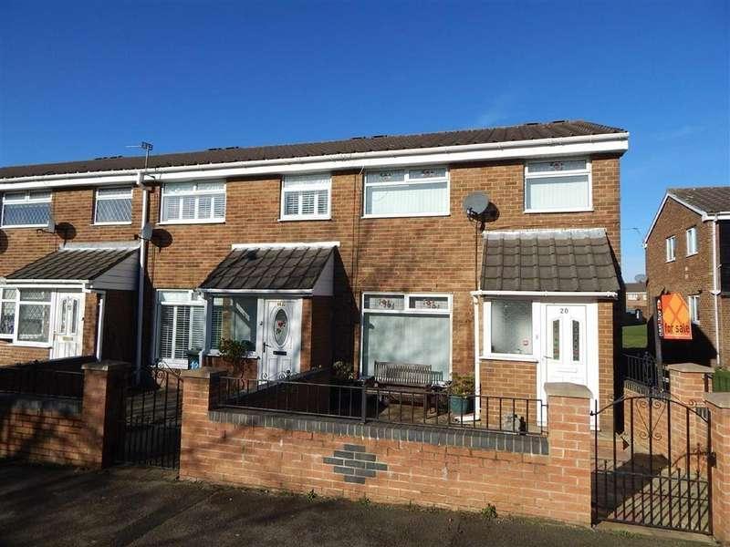 3 Bedrooms Terraced House for sale in Blandford Way, Battle Hill, Wallsend, NE28