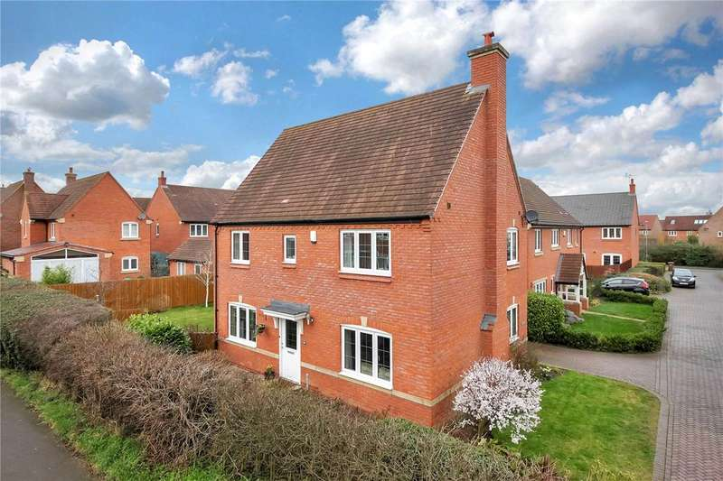 4 Bedrooms Detached House for sale in Hillcrest Drive, Loughborough, Leicestershire