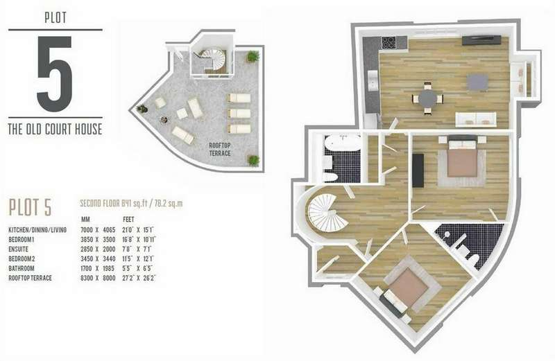 2 Bedrooms Flat for sale in 5 The Old Court House, Star Lane, Epping, Essex