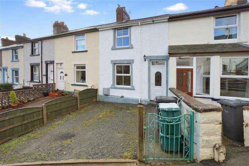 2 Bedrooms Terraced House for sale in Cowlyd Terrace, Trefriw, Conwy
