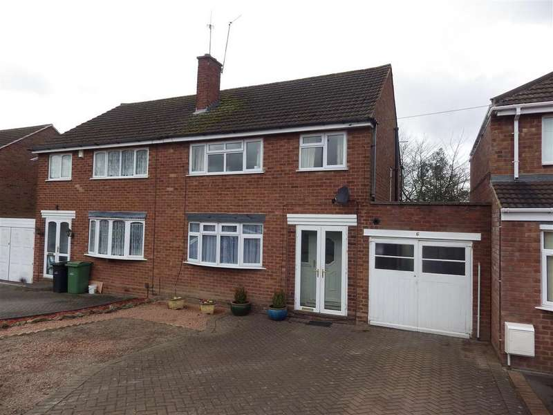 3 Bedrooms Semi Detached House for sale in Hazeldene Road, Halesowen