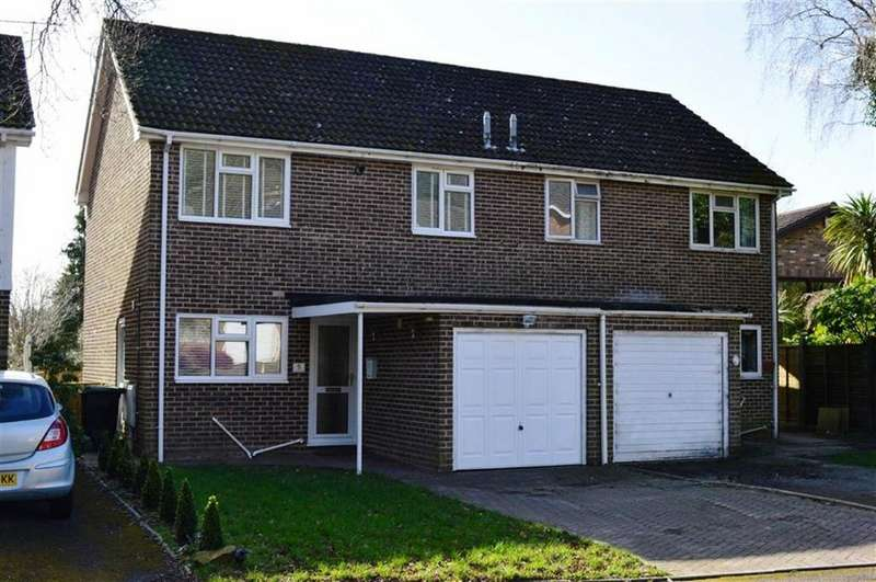 3 Bedrooms Semi Detached House for sale in Harness Close, Wimborne, Dorset