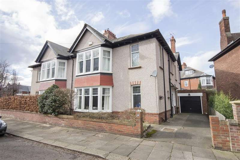 6 Bedrooms Semi Detached House for sale in Roseworth Crescent, Gosforth, Newcastle upon Tyne NE3