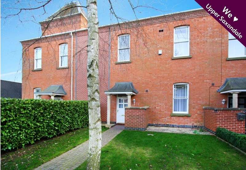 3 Bedrooms Terraced House for sale in Shaftesbury Avenue, Radcliffe-on-Trent, Nottingham, NG12