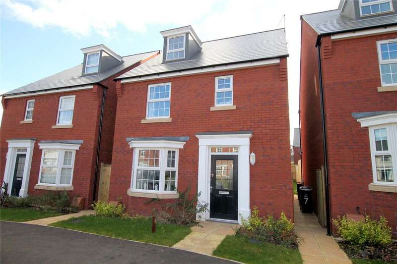 4 Bedrooms Detached House for sale in Dixon Close, Wiveliscombe, Taunton, Somerset