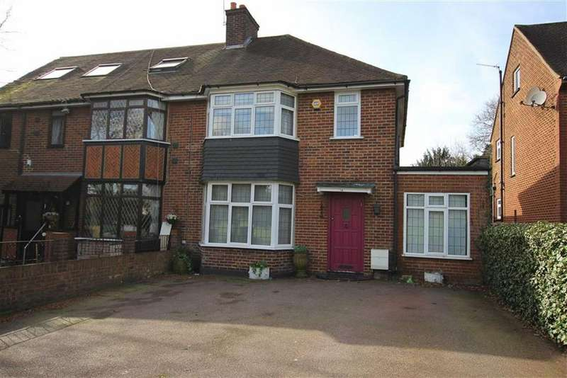 3 Bedrooms Semi Detached House for sale in Flower Lane, Mill Hill, London