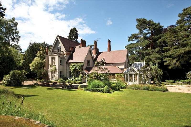 6 Bedrooms Detached House for sale in Westwood Road, Windlesham, Surrey