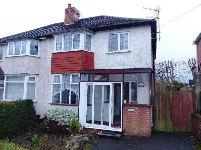 3 Bedrooms Semi Detached House for sale in Lilley Lane, Birmingham