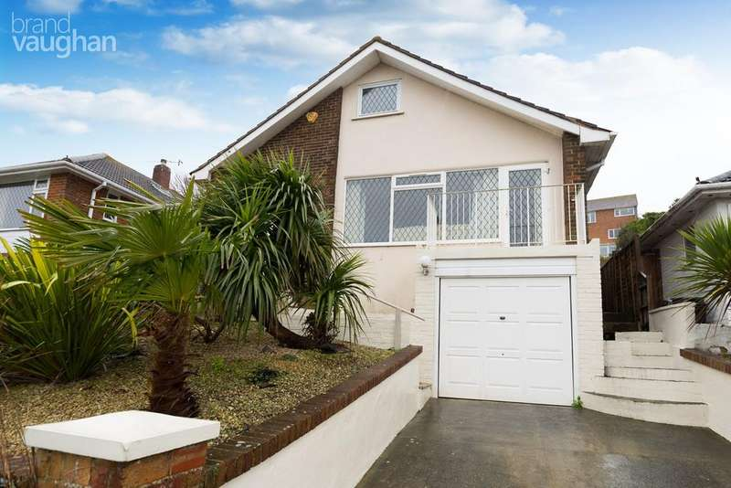 3 Bedrooms Detached Bungalow for sale in Greenbank Avenue, Saltdean, Brighton, BN2