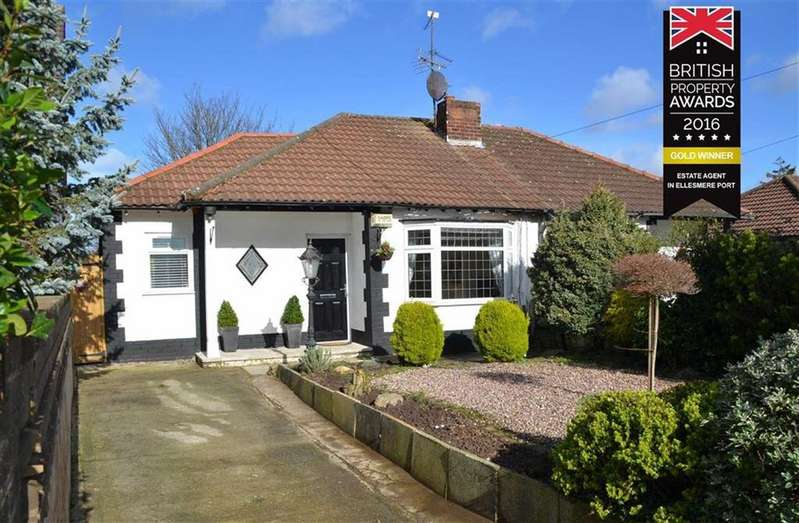 3 Bedrooms Semi Detached Bungalow for sale in Mill Lane, Great Sutton, CH66