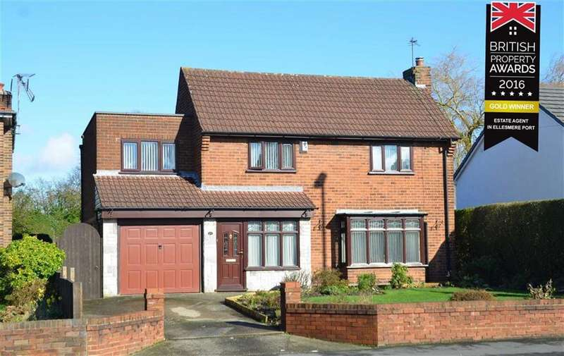 3 Bedrooms Detached House for sale in Rossmore Road West, CH66