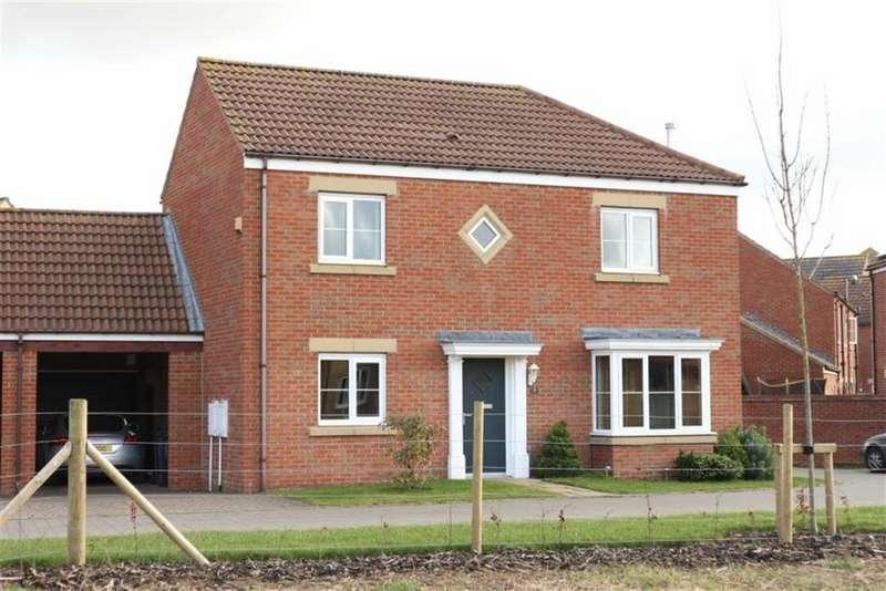 4 Bedrooms Detached House for sale in Shorthorn Lane, Darlington