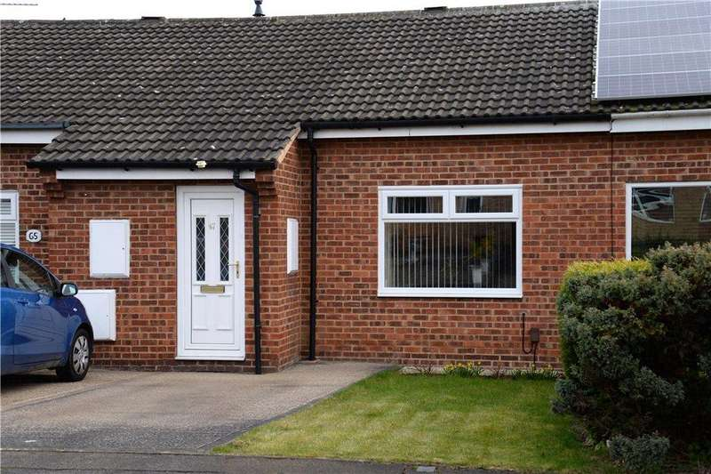 1 Bedroom Terraced Bungalow for sale in Beckwith Road, Yarm, Stockton-On-Tees