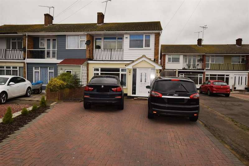 3 Bedrooms End Of Terrace House for sale in Furtherwick Road, Canvey Island