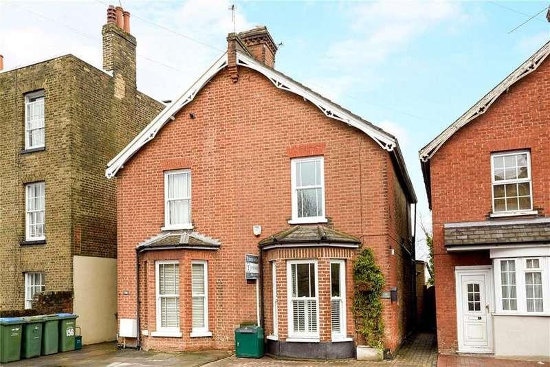 2 Bedrooms Semi Detached House for sale in Bridge Road, East Molesey, Surrey, KT8