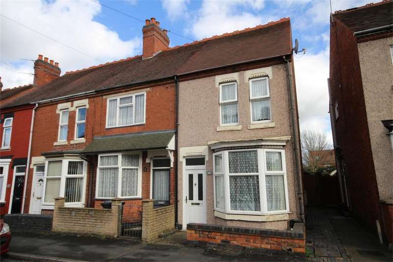 3 Bedrooms End Of Terrace House for sale in John Street, Coton, NUNEATON, Warwickshire