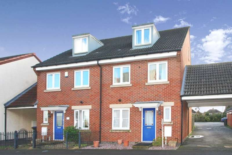 4 Bedrooms Semi Detached House for sale in Richmond Gate, Hinckley, LE10