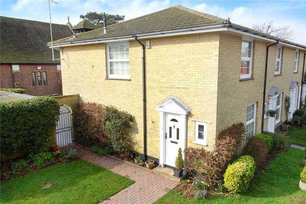 2 Bedrooms End Of Terrace House for sale in St Anthonys Way, Rustington, West Sussex, BN16
