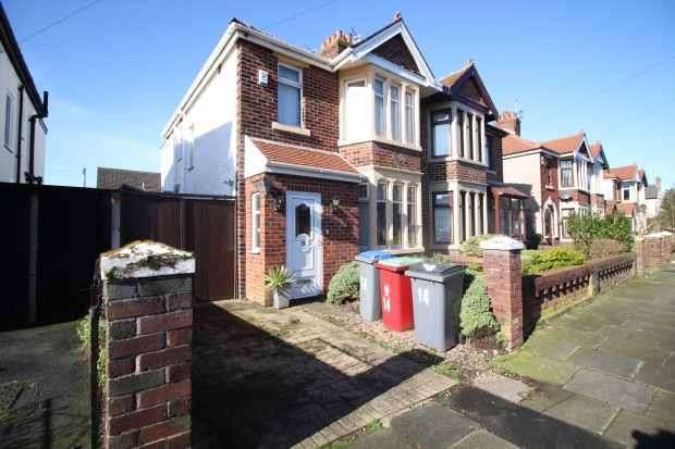 3 Bedrooms Semi Detached House for sale in Ferndale Avenue, Blackpool, Lancashire, FY4 3JB